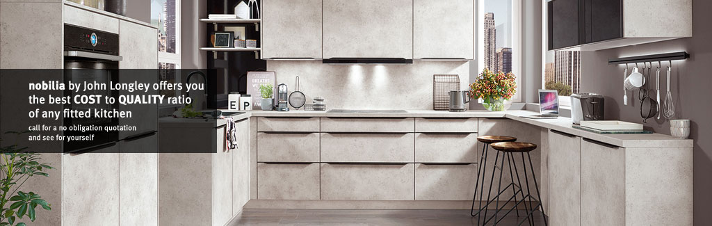 Nobilia modern fitted kitchens in barnsley sheffield for Kitchen design specialists colorado springs