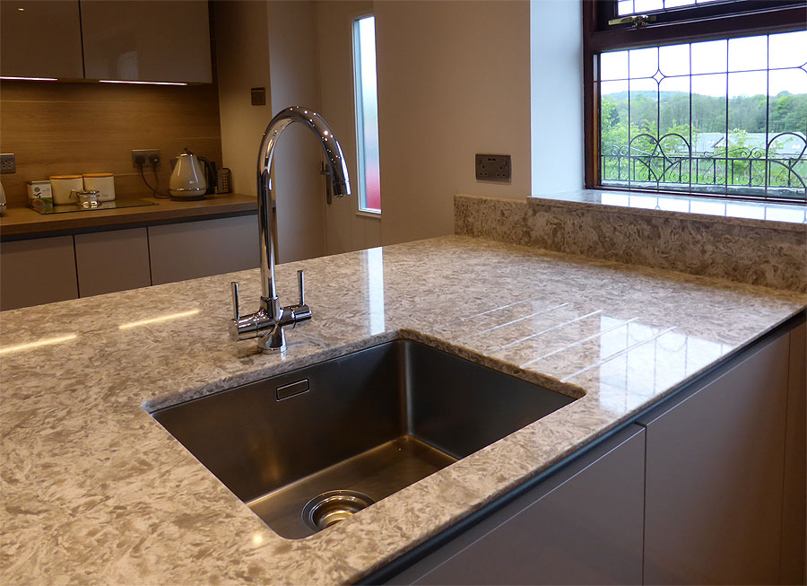 Modern kitchen and bathroom makeovers barnsley nobilia for Kitchen design specialists colorado springs